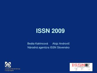 ISSN 2009