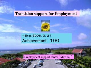 Transition support for Employment