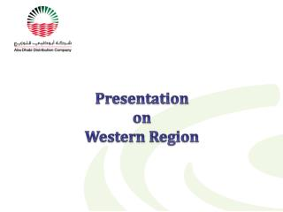 Presentation  on  Western Region