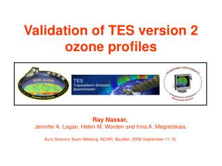Validation of TES version 2 ozone profiles