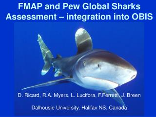 FMAP and Pew Global Sharks Assessment – integration into OBIS