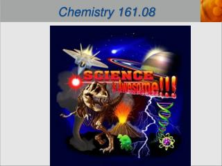 Chemistry 161.08