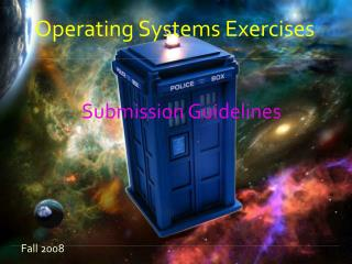 Operating Systems Exercises