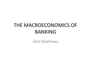 Money Central Banks