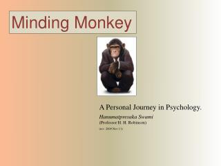 Minding Monkey