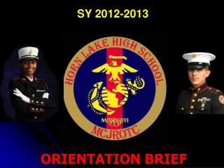 ORIENTATION BRIEF