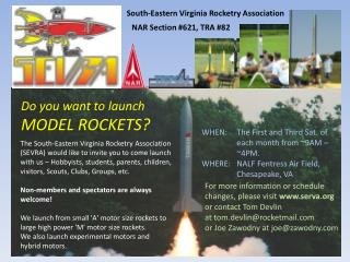 Do you want to launch MODEL ROCKETS?