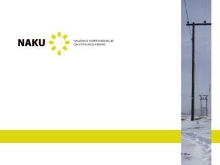 Bakgrunn for opprettelsen av NAKU