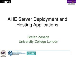 AHE Server Deployment and Hosting Applications