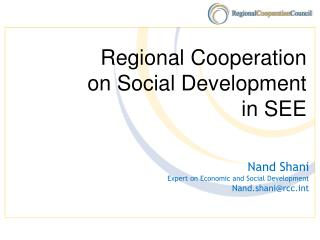 Regional Cooperation on Social Development in SEE