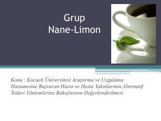 Grup Nane-Limon
