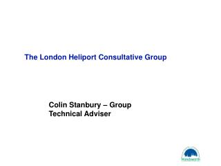 The London Heliport Consultative Group