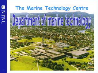 The Marine Technology Centre