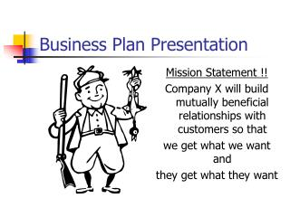 Business Plan Presentation