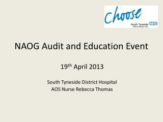 NAOG Audit and Education Event