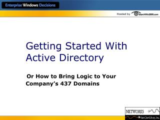 Getting Started With Active Directory