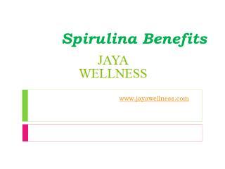 Spirulina Benefits - www.jayawellness.com