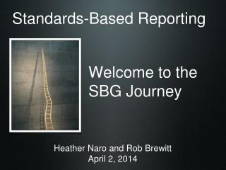 Welcome to the SBG Journey