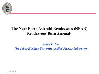 The Near Earth Asteroid Rendezvous (NEAR) Rendezvous Burn Anomaly
