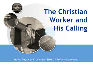 The Christian Worker and His Calling