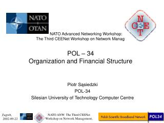 POL – 34  Organization and Financial Structure