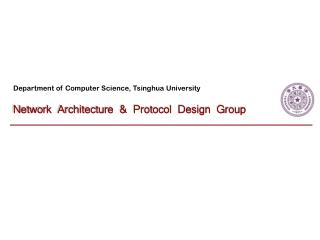 Department of Computer Science, Tsinghua University