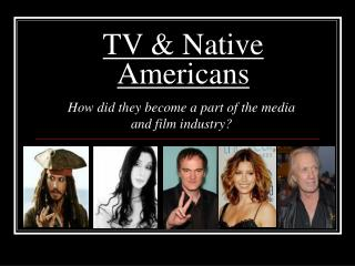 TV & Native Americans