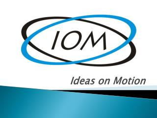 Ideas on Motion