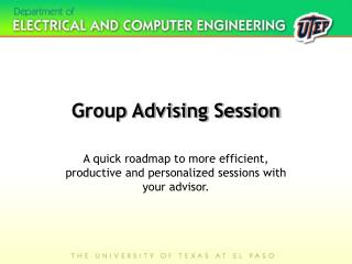 Group Advising Session