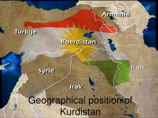 Geographical position of Kurdistan
