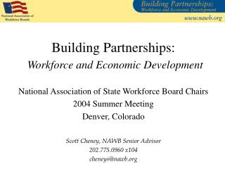 Building Partnerships: Workforce and Economic Development