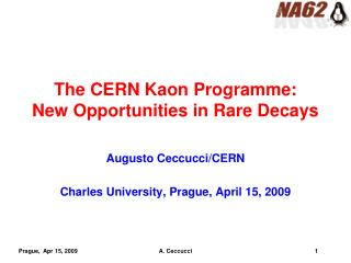The CERN Kaon Programme: New Opportunities in Rare Decays