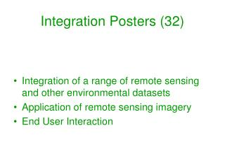 Integration Posters (32)