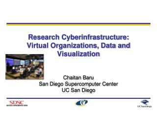 Research Cyberinfrastructure:  Virtual Organizations, Data and Visualization