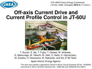 Off-axis Current Drive and Current Profile Control in JT-60U
