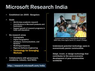 Microsoft Research India