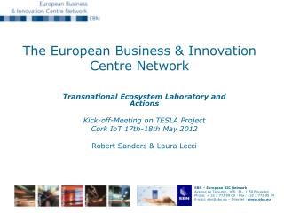 The European Business & Innovation Centre Network