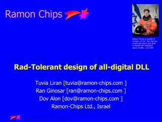 Rad-Tolerant design of all-digital DLL