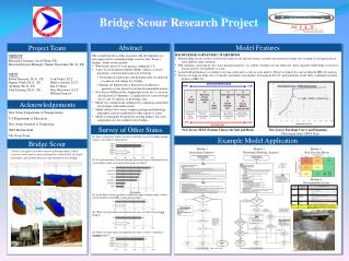 Bridge Scour Research Project