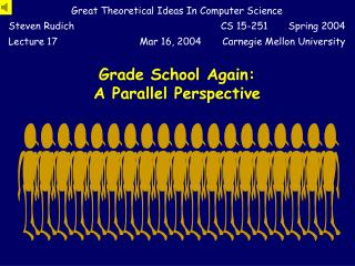 Grade School Again: A Parallel Perspective