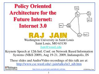 Policy Oriented Architecture for the Future Internet:  Internet 3.0