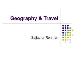 Geography & Travel