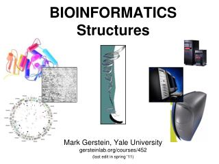 BIOINFORMATICS Structures