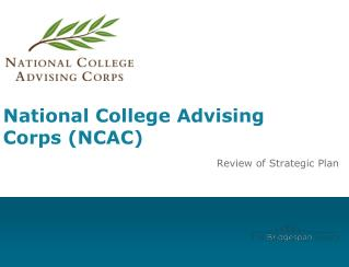 National College Advising Corps (NCAC)