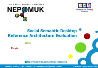 Social Semantic Desktop Reference Architecture Evaluation