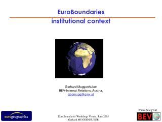 EuroBoundaries institutional context