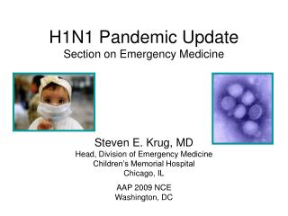 H1N1 Pandemic Update Section on Emergency Medicine