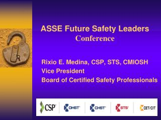 ASSE Future Safety Leaders Conference