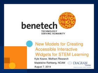 New Models for Creating Accessible Interactive Widgets for STEM Learning