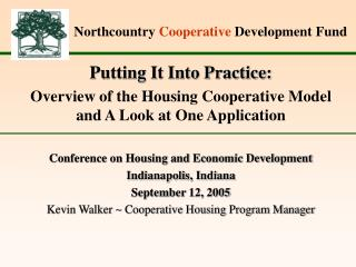 Northcountry  Cooperative  Development Fund